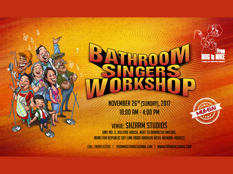 Mumbai – Bathroom Singers Workshop